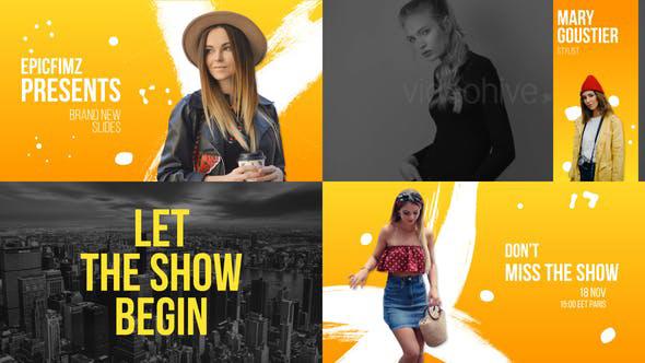 پروژه افترافکت با موزیک  تیتراژ سینمایی و تیزر Fashion Event Broadcast