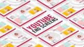 پروژه افترافکت با موزیک سکانس انتهایی تبلیغات یوتیوپ YouTube End Screens