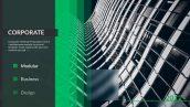 پروژه افترافکت با موزیک معرفی سابقه شرکت Business Timeline