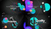 پروژه افترافکت با موزیک معرفی محصول Technologic Product Promo