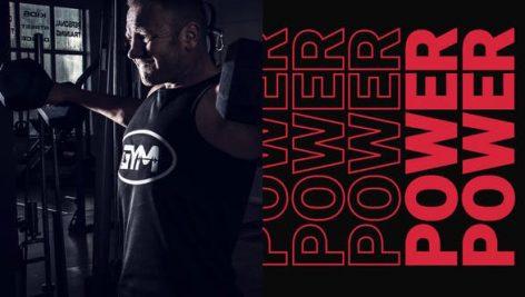 پروژه افترافکت رزولوشن ۴K با موزیک : وله اکشن Workout Power Intro