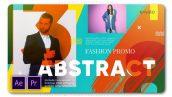 پروژه پریمیر با موزیک اسلایدشو اسپرت شاد Abstract Fashion Slides