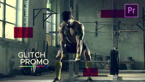 پروژه پریمیر با موزیک : تیتراژ اسپرت با افکت نویز Sport Glitch Promo
