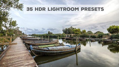 پریست لایت روم دسکتاپ تم کنتراست بالا Awesome HDR Presets