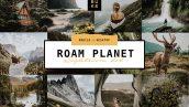 پریست لایت روم دسکتاپ و موبایل تم تیره Roam Planet Lightroom Bundle