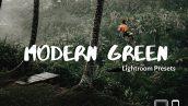 پریست لایت روم دسکتاپ و موبایل تم سبز Green Lightroom Presets XMPDNG