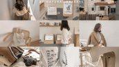 پریست لایت روم دسکتاپ و موبایل تم طبیعت پاک Natural Clean Lightroom Presets
