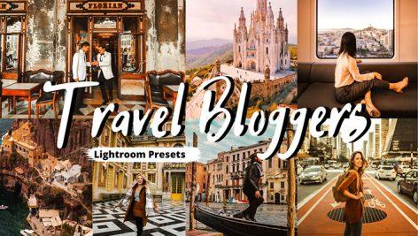 پریست لایت روم دسکتاپ و موبایل تم مسافرتی Travel Bloggers Lightroom Presets