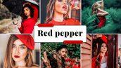 پریست لایت روم مخصوص موبایل تم فلفل قرمز Red Pepper