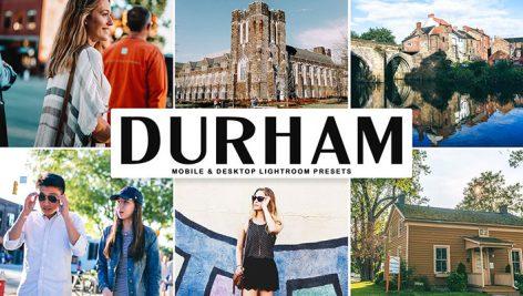 پریست لایت روم و پریست کمرا راو تم دورام انگلستان Durham Lightroom Presets Pack