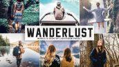 پریست لایت روم و پریست کمرا راو تم سفر Wanderlust Mobile Desktop Lightroom Presets