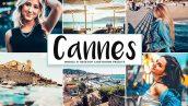 پریست لایت روم و پریست کمرا راو تم فرانسه Cannes Lightroom Presets Pack