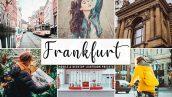 پریست لایت روم و پریست کمرا راو تم فرانکفورت Frankfurt Pro Lightroom Presets