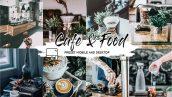 پریست لایت روم و پریست کمرا راو تم قهوه CAFE AND FOOD FILM LIGHTROOM PRESETS