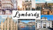 پریست لایت روم و پریست کمرا راو تم لمباردی ایتالیا Lombardy Lightroom Presets Pack