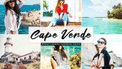 پریست لایت روم و پریست کمرا راو تم کیپ ورد آفریقا Cape Verde Lightroom Presets Pack