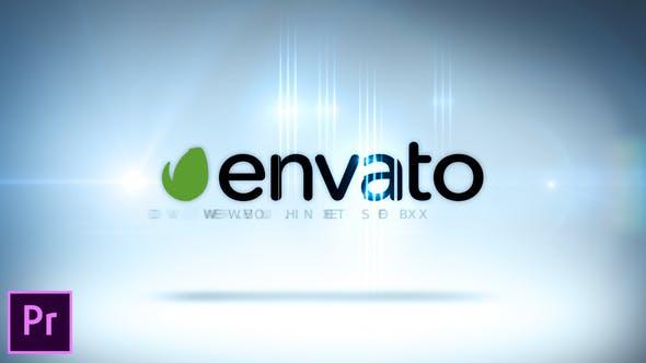 دانلود پروژه پریمیر با موزیک : لوگو و آرم شرکت Stylish Corporate Logo Premiere Pro