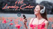 دانلود 115 پریست لایت روم حرفه ای تم رنگ عشق Lovely Color Lightroom Presets