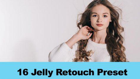 دانلود 16 پریست لایت روم روتوش چهره GraphicRiver 16 Jelly Retouch Preset