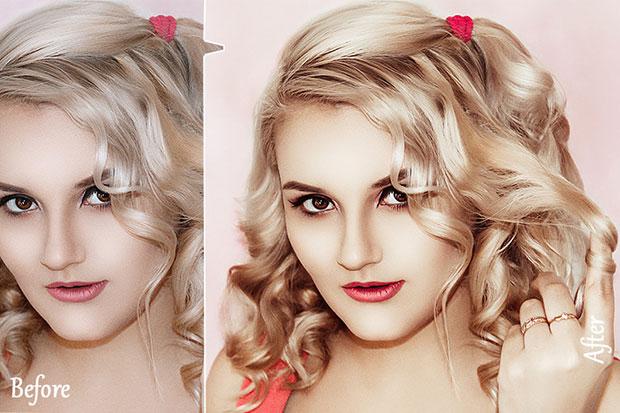دانلود 20 پریست لایت روم دسکتاپ رتوش چهره Skin Retouch Lightroom Presets