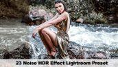 دانلود 23 پریست لایت روم نویز کنتراست رنگ GraphicRiver 23 Noise HDR Effect Preset