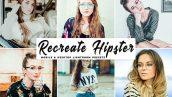 دانلود 34 پریست لایت روم حرفه ای Recreate Hipster Pro Lightroom Preset