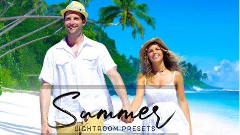 دانلود 80 پریست لایت روم دسکتاپ تم تابستانی Summer Lightroom Presets