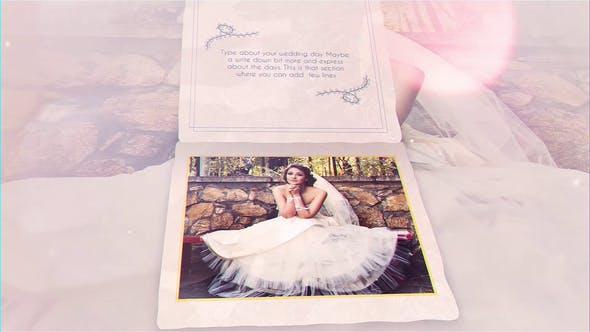 پروژه آماده افترافکت عروسی با موزیک  کارت دعوت The Wedding