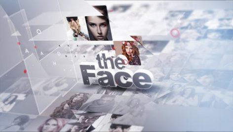 پروژه افترافکت با موزیک اسلایدشو 3 بعدی Faces Of The Day