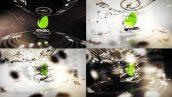 پروژه افترافکت لوگو با موزیک افکت نت موسیقی Music Logo Reveals