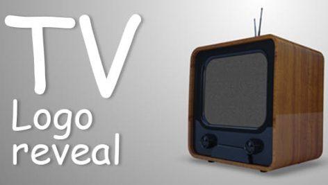 پروژه افترافکت لوگو با موزیک افکت نمایش تلویزیون TV Logo Reveal