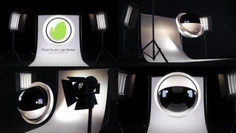 پروژه افترافکت لوگو با موزیک مخصوص آتلیه عکاسی Photo Studio Logo Reveal