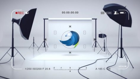 پروژه افترافکت لوگو با موزیک مخصوص آتلیه عکاسی Studio Photo