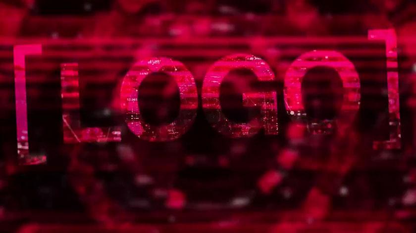 پروژه پریمیر با موزیک لوگو و آرم لوگوی دیجیتال Digital Logo Reveal