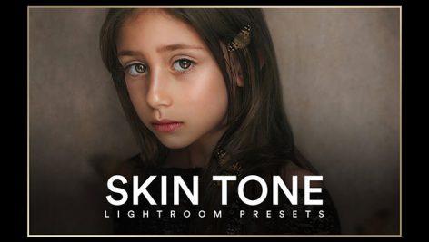 پریست لایت روم دسکتاپ تم رنگ صورت Skin Tone I Lightroom Presets