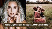 پریست لایت روم دسکتاپ و موبایل تم رنگ سینمایی Film Lightroom Presets XMP And DNG
