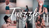 پریست لایت روم دسکتاپ و موبایل تم رنگ پوست Twizzle Lightroom CC Presets