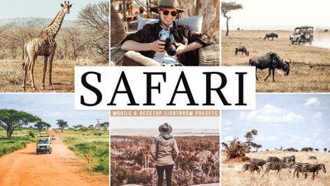 پریست لایت روم دسکتاپ و موبایل تم طبیعت آفریقا Safari Mobile And Desktop Lightroom Presets