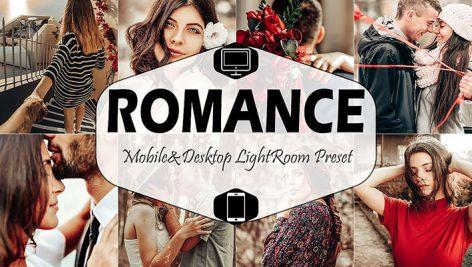 پریست لایت روم دسکتاپ و موبایل تم عاشقانه Romance Mobile And Desktop Lightroom