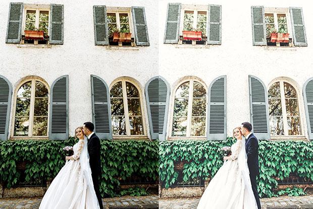 پریست لایت روم عروسی مخصوص دسکتاپ تم عروس زیبا Intimate Wedding Lightroom Presets