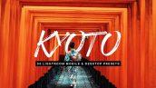 پریست لایت روم و لات رنگی تم کیوتو ژاپن Kyoto Lightroom Presets and LUTs