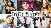 پریست لایت روم و پریست کمرا راو تم عکس سلفی Selfie Filters Lightroom Presets