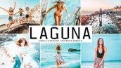 پریست لایت روم و Camera Raw تم ساحل دریا Laguna Mobile And Desktop Lightroom Presets