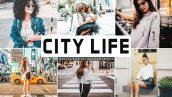 پریست لایت روم و Camera Raw و اکشن تم زندگی شهری City Life Mobile And Desktop Lightroom Presets