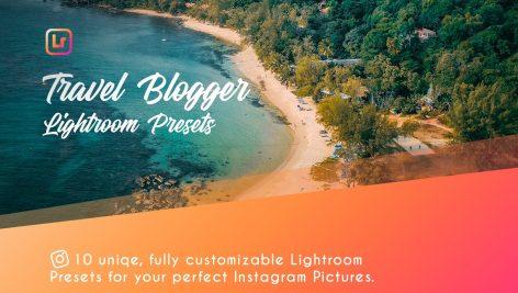 دانلود 10 پریست لایت روم تم مسافرتی بلاگر Travel Blogger Lightroom Presets
