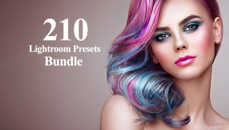 دانلود 210 پریست لایت روم آتلیه عکاسی Lightroom Presets Bundle