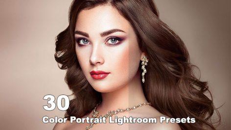 دانلود 30 پریست لایت روم مخصوص عکس پرتره Color Portrait Lightroom Presets