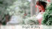دانلود 40 پریست لایت روم تم عروس و نوزاد Bright And Airy Presets for Lightroom