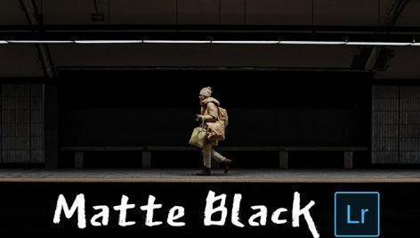 دانلود 5 پریست لایت روم تم مات تیره Matte Black Lightroom Presets