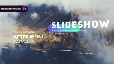 پروژه پریمیر با موزیک اسلایدشو تم سینمایی The Cinematic Slideshow